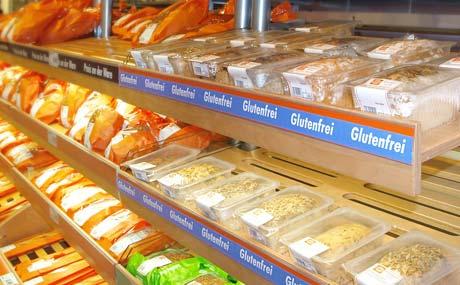 Globus:Backt glutenfreies Brot