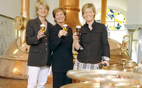 Privat-Brauerei Strate: Frauenpower