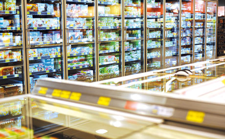 Kühlanlagen:  Deckel drauf