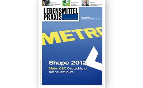 Ausgabe 03/2010 vom 12. Februar 2010: Shape 2012 - Metro C&C Deutschland
