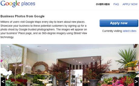 Google liefert Innenansichten,