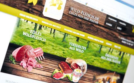 Wild online:  Kein Gatterwild im Angebot