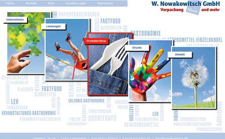 Nowakowitsch: Mit ein paar Klicks zur Verpackung