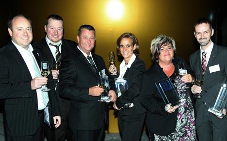 Ausbilder des Jahres 2012:Ehrung der Besten