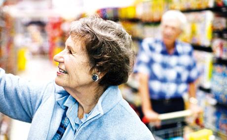 Gesunde Ernährung: Zielgruppe Generation 50plus