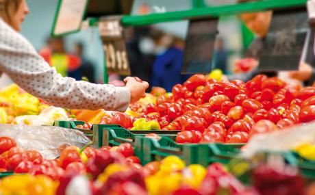 Obst & Gemüse: So putzt man die Abteilung für den Frühling heraus
