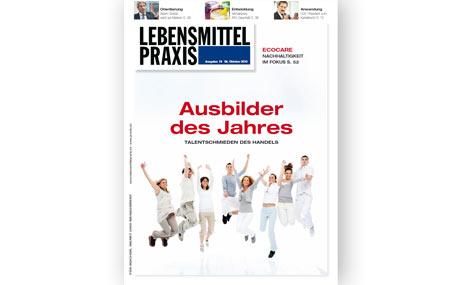 Ausgabe 19 vom 08. Oktober 2010: Ausbilder des Jahres