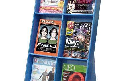 Gutscheinkarten für Zeitschriften