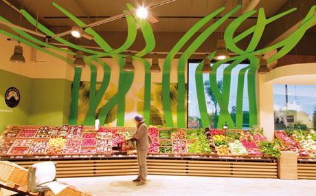 Ladenbau spiegelt Frischekompetenz wider