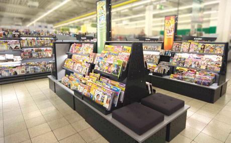 Zeitungen und Zeitschriften:Im Presseregal muss alles seine Ordnung haben