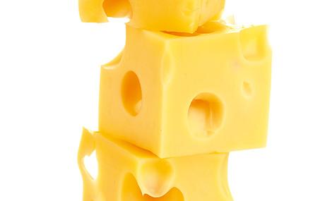Käse als Snack