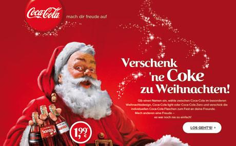Sozial vernetzt im Netz: Coca-Cola