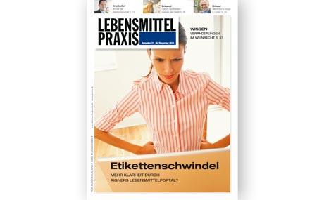 Ausgabe 21 vom 05. November 2010: Etikettenschwindel