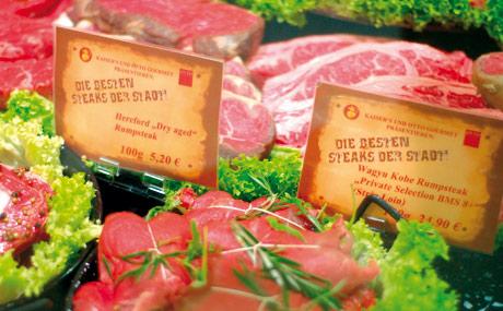 Steak-Kultur ist Fleisches-Lust