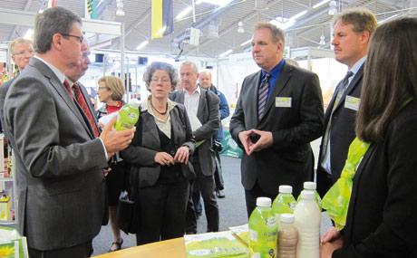 Warenbörse der Ernährungswirtschaft:Kulinarisches Gesicht der Region
