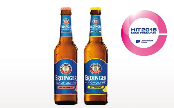 Anzeige:ERDINGER Alkoholfrei Zitrone & Alkoholfrei Grapefruit