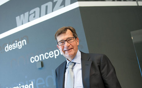 Ladenbaulösungen aus einer Hand: Gottfried Wanzl steht  dem in dritter Generation inhabergeführten amilienunternehmen Wanzl vor.