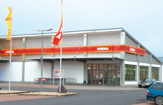 Neues Logistikzentrum bei Rostock