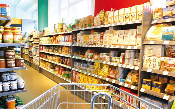 Rund 6.000 pflanzliche Artikel umfasst das Veganz-Sortiment, darunter auch viele in Rohkost-Qualität.