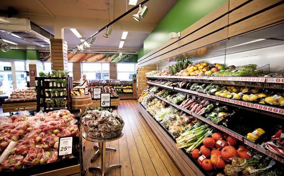 Bei Super-Brugsen in der Jægergårdsgade in Århus nimmt Bio einen hohen Stellenwert ein. Rund 1.500 Öko-Artikel finden Kunden auf einer Fläche von 1.100 qm in Doppelplatzierung.
