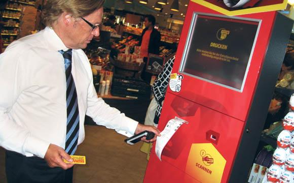 Tobias Tuchlenski, Chef der Kaiser's-Region Berlin, nutzt das Angebot schon seit einem Jahr.