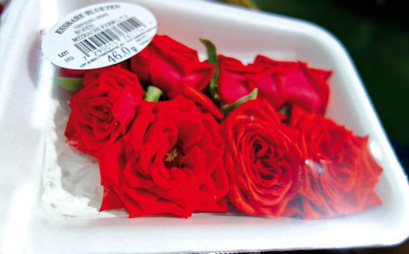 Leckere Hingucker: Essbare Blüten sind gefragt.