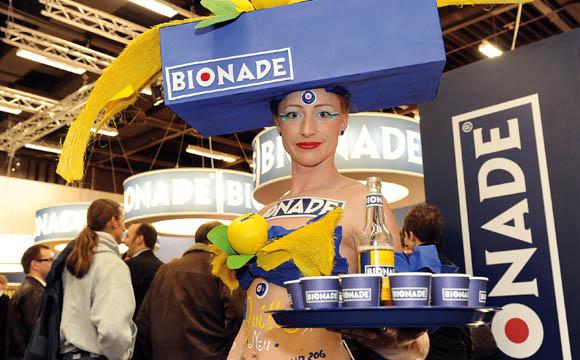 Bionade: Nicht mehr so präsent.