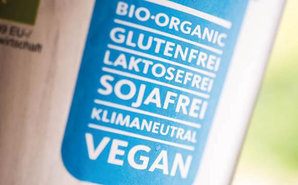 Positiver Trend: Inhaltsstoffe in Lebensmitteln.