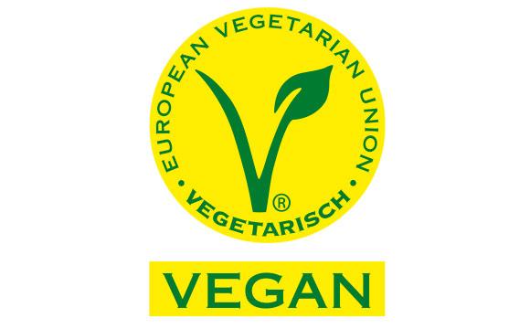 Das V-Label der EVU (hierzulande ist der Vegetarierbund Deutschland Lizenzgeber) existiert in vier Stufen: ovo-lacto-vegetarisch, ovo- bzw. lacto-vegetarisch, sowie vegan.
