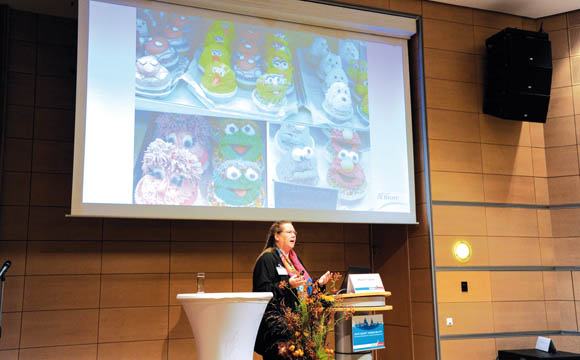 Karin Tischer (Food & More) sprach über nationale und internationale Trends.