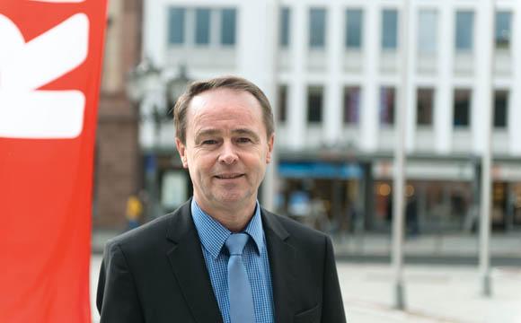 Egal, welcher Herkunft oder Hautfarbe - ihr könnt bei der Rewe Karriere machen<br /> Jürgen Scheider, Regionsleiter Rewe Mitte