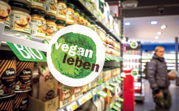 Das vegane Sortiment wächst weiterhin sehr dynamisch.