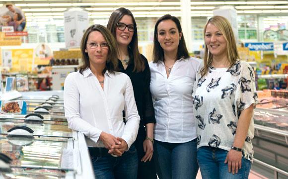 Zielstrebig und sympathisch (v. l.): Yasmin Mas-Distler, Nathalie Weyand, Gabriela Patriota und Katy Koch.