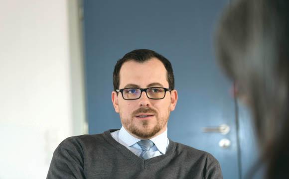 Thorsten Beineke hat als Regionalleiter eine Drei- bis Fünf-Jahres- Planung im Blick: Wo entstehen Vakanzen in Führungspositionen?