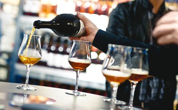 "Komplexe Biere gehören in den sogenannten ""Pokal""."