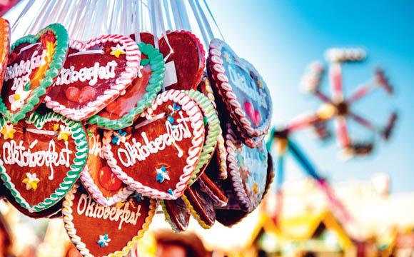Bayerische Tradition und Schmankerl kommen weltweit gut rüber.