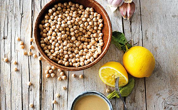 Kichererbsen sind die wichtigste Zutat für Hummus.