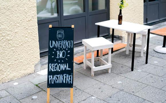 Die richtige Adresse für Umweltbewusste: Ohne, Schellingstraße 42 in München.