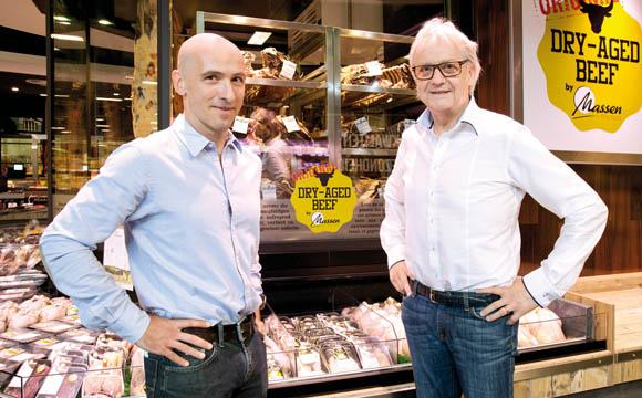 Die Macher: Arsène Laplume (r) und Fernand Massen führen die Geschäfte in Wemperhardt.