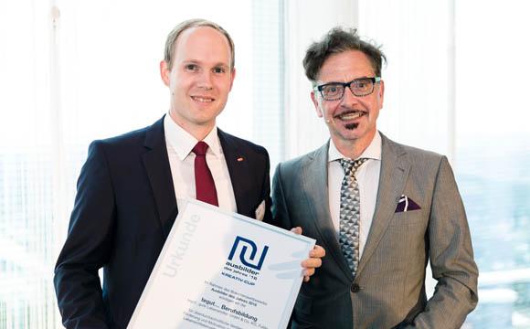 Benjamin Brähler (l., Tegut) und Reiner Mihr (LP)