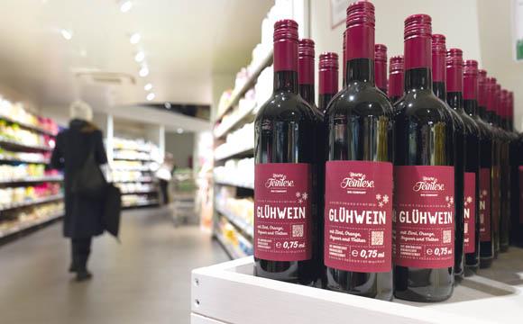 """Zweitplatzierung: die neue Eigenmarke """"Unsere Feinlese"""" für saisonale Spezialitäten."""