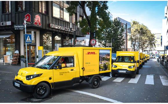 In Köln und Stuttgart hat die Deutsche Post DHL den Streetscooter im Einsatz.