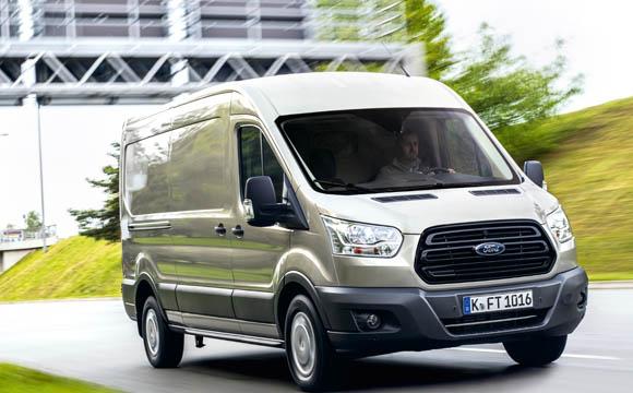 Die EcoBlue-Motoren von Ford entsprechen der Euro-6-Norm für alle Nutzfahrzeuge.