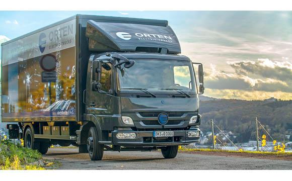 Das Start-up Orten baut zusammen mit einem Partner Electric-Trucks.