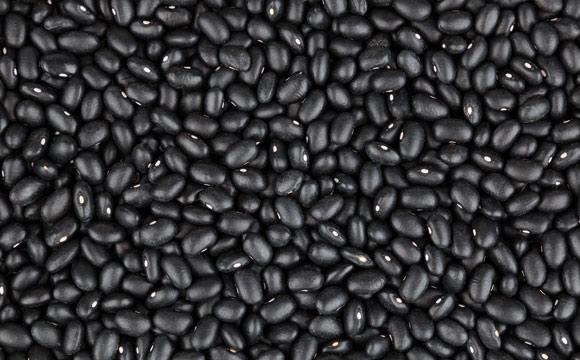 Schwarze Bohnen<br /> sind beliebt für mexikanische und südamerikanische Gerichte. Am besten legt man sie über Nacht in Wasser ein, um die Kochzeit zu verkürzen.