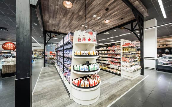 Exponierte Plätze für neue Anbieter und besondere Produkte.