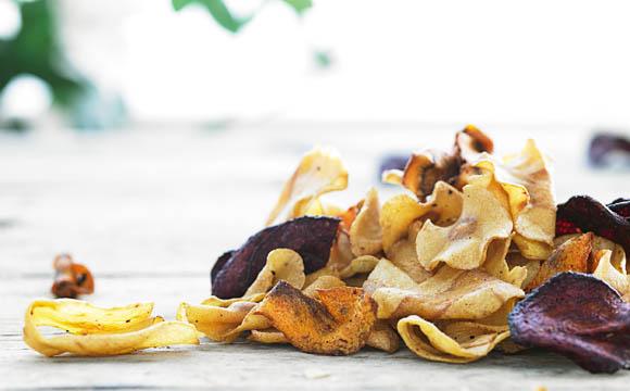Gemüsechips sprechen auch Verwender an, die sich bewusster ernähren möchten.