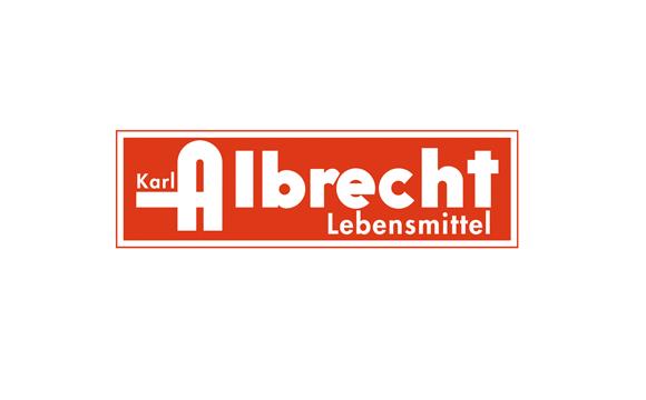 Im Laufe der vergangenen Jahrzehnte wurde das Unternehmenslogo mehrmals überarbeitet. Hier die Historie: Albrecht-Logo 1948