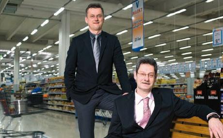 Starkes Team: Hausleiter Thomas Richter (l.) und sein Stellvertreter Christoph Blechschmidt
