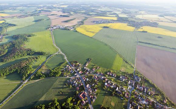 In der Mitte Deutschland ist die Ernährungsschaft wichtig.